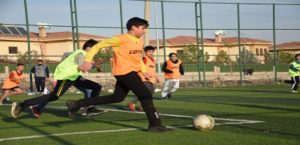 Bilgi Evi futbol turnuvası başladı