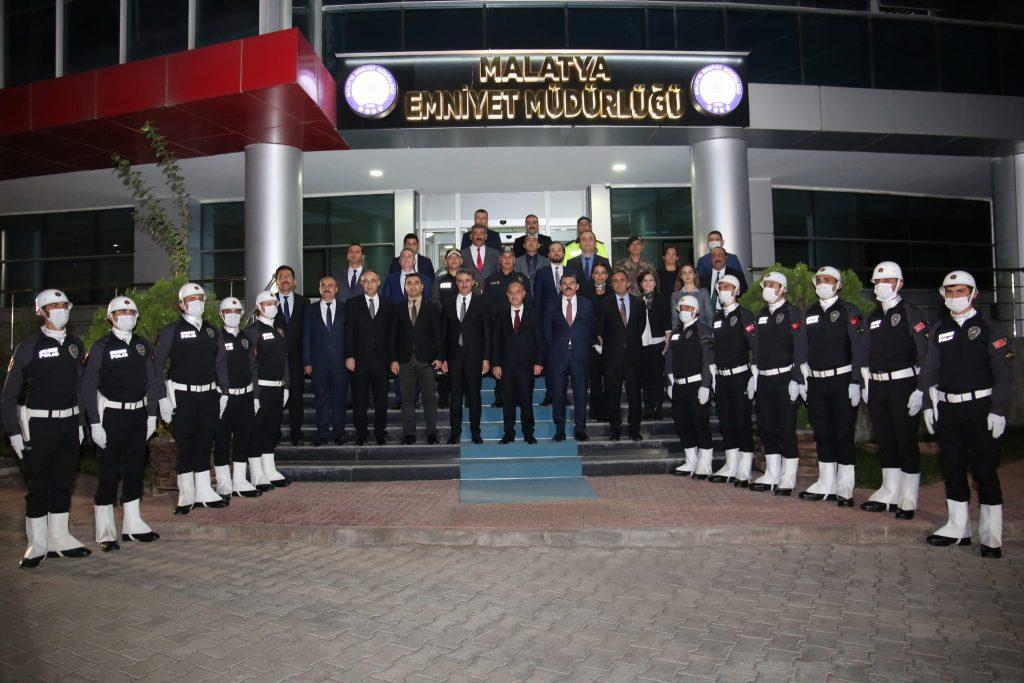 Emniyet Genel Müdürü Aktaş Malatya'da