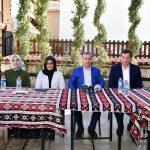 Başkan Çınar, Tügva Malatya İl Yönetimini İ Lezzet Caddesinde Ağırladı